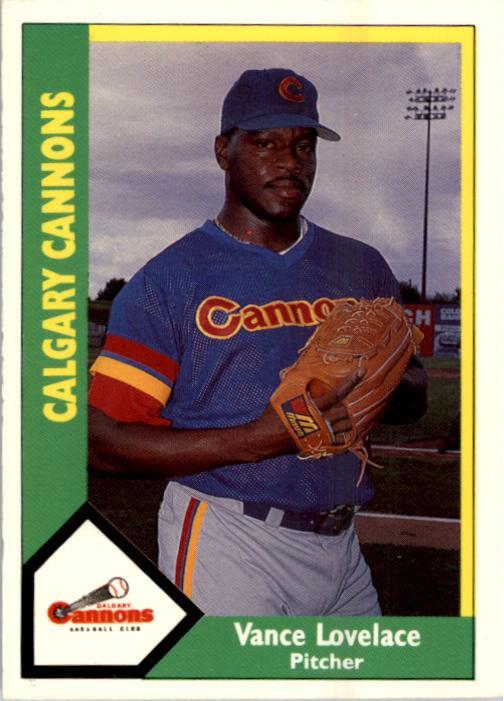 1990 Calgary Cannons CMC #7 Vance Lovelace