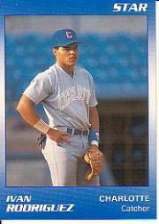 1990 Charlotte Rangers Star #22 Ivan Rodriguez
