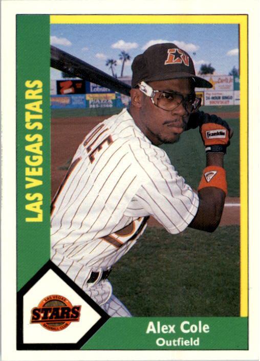 1990 Las Vegas Stars CMC #16 Alex Cole