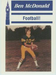 1990 LSU Tigers Ben McDonald McDag #8 Ben McDonald/Football