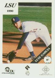 1990 LSU Tigers Police #13 Luis Garcia
