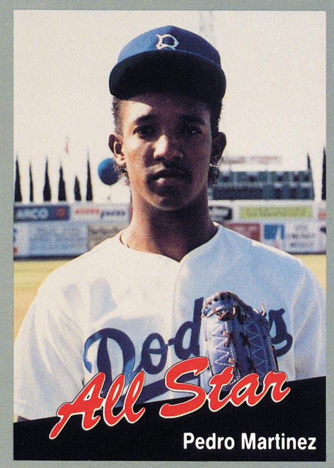 1991 California League All-Stars #2 Pedro Martinez