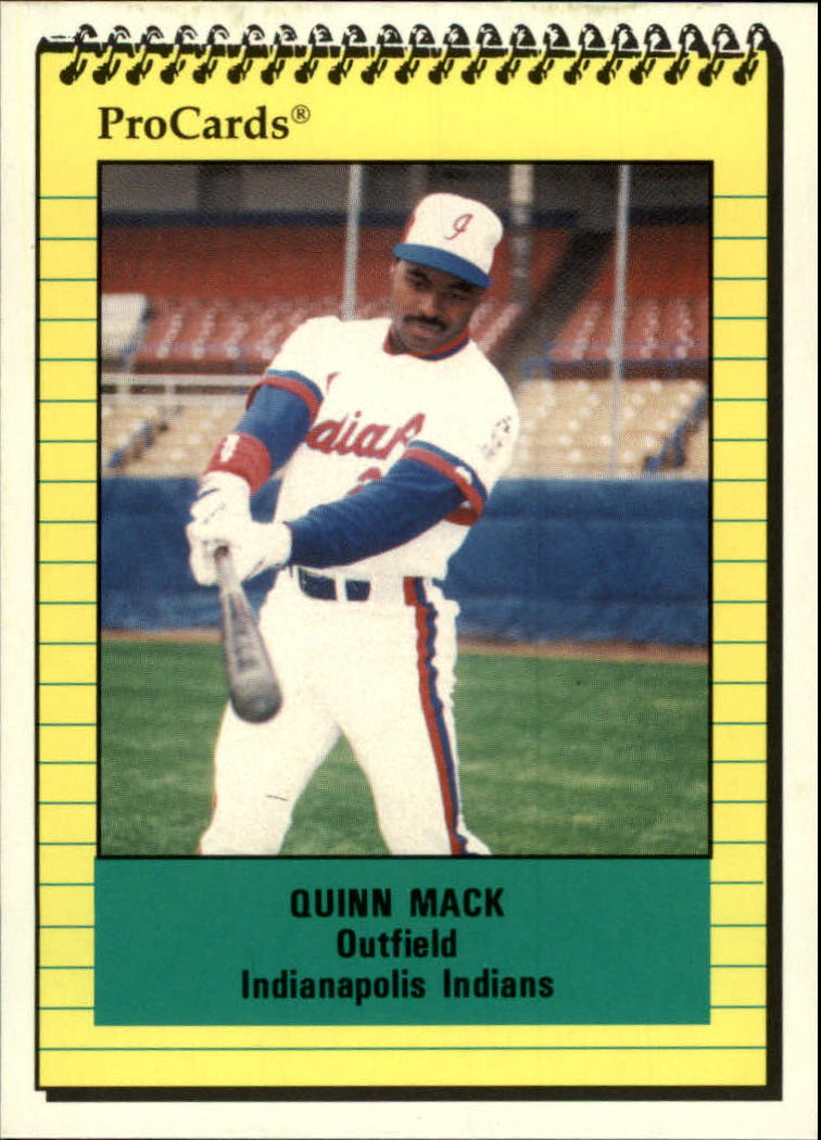 1991 Indianapolis Indians ProCards #475 Quinn Mack