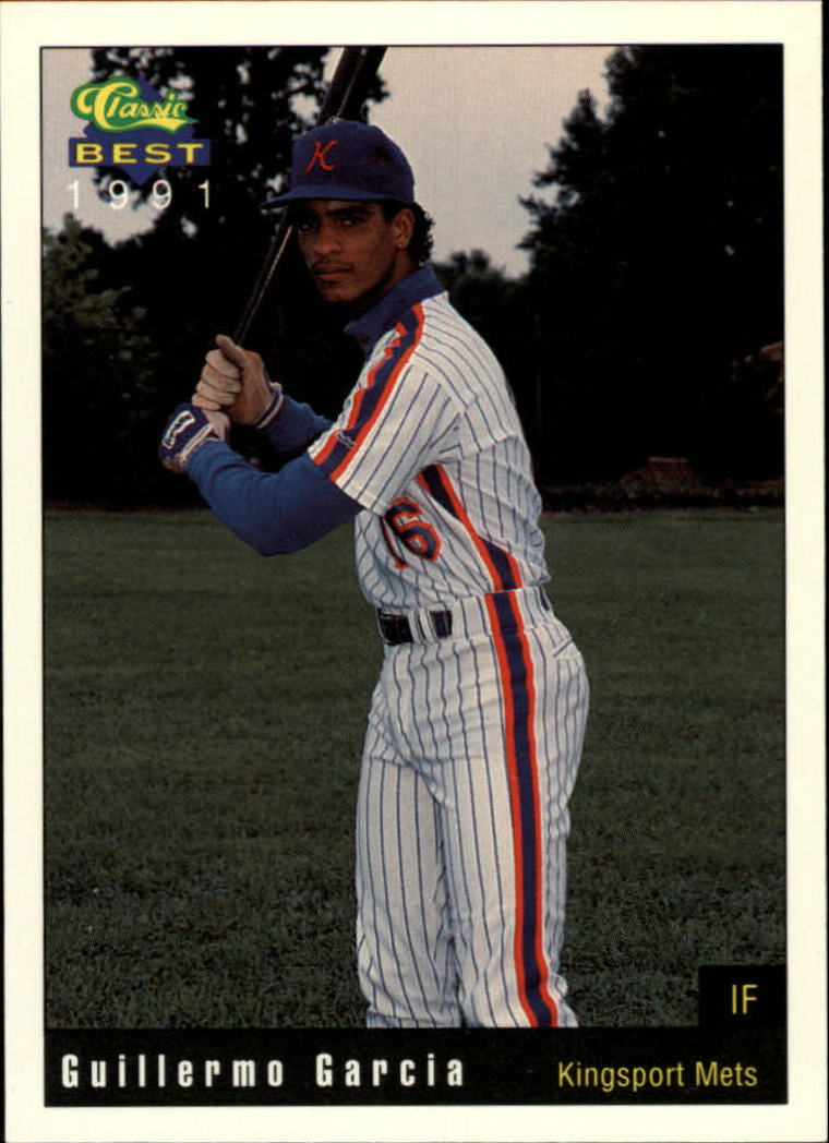 1991 Kingsport Mets Classic/Best #14 Guillermo Garcia