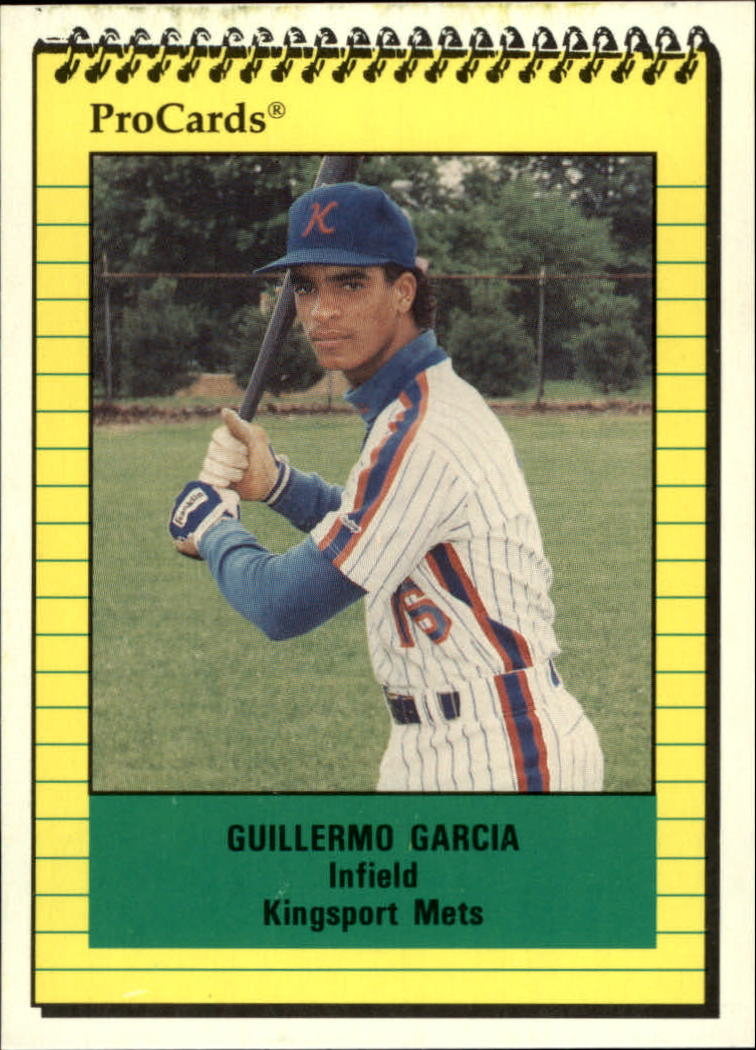 1991 Kingsport Mets ProCards #3821 Guillermo Garcia