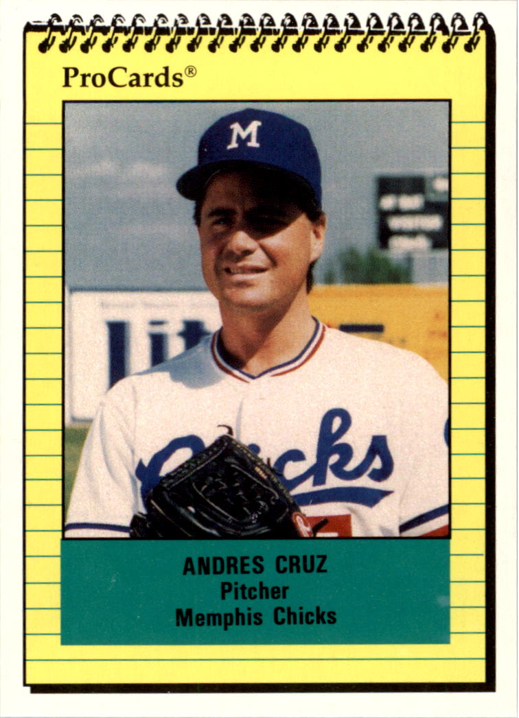 Buy Andres Cruz Cards Online Andres Cruz Baseball Price Guide