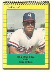 1991 Tulsa Drillers ProCards #2776 Ivan Rodriguez