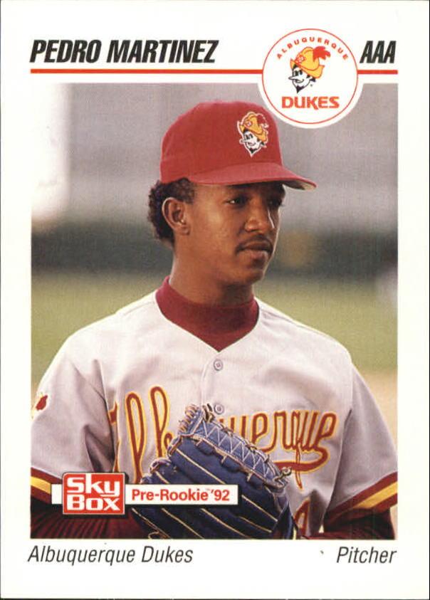 1992 Triple A All-Stars SkyBox #13 Pedro Martinez
