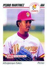 1992 Albuquerque Dukes SkyBox #13 Pedro Martinez