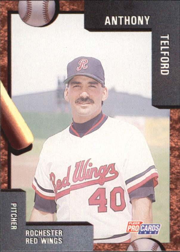 1992 Rochester Red Wings Fleer/ProCards #1941 Anthony Telford
