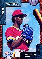 1992 Albuquerque Dukes Fleer/ProCards #716 Pedro Martinez
