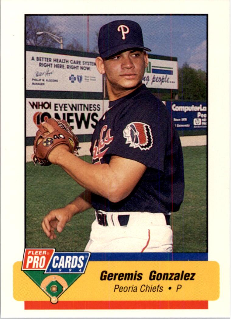 1994 Peoria Chiefs Fleer/ProCards #2259 Jeremi Gonzalez