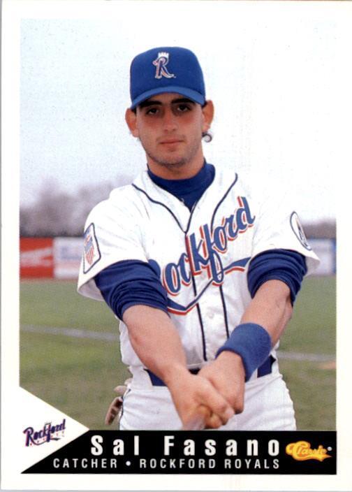 1994 Rockford Royals Classic #1 Sal Fasano