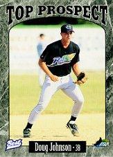 1997 Appalachian League Top Prospects Best #11 Doug Johnson