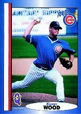 1998 Iowa Cubs Q-Cards #28 Kerry Wood