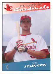 1998 Johnson City Cardinals Interstate Graphics #17 Gabe Johnson