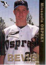 1999 Missoula Osprey Grandstand #2 P.J. Bevis
