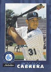 2000 Utica Blue Sox Multi-Ad #21 Miguel Cabrera