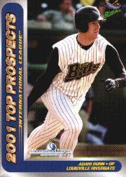 2001 International League Top Prospects Choice #9 Adam Dunn