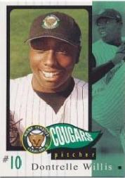 2002 Kane County Cougars Grandstand #27 Dontrelle Willis