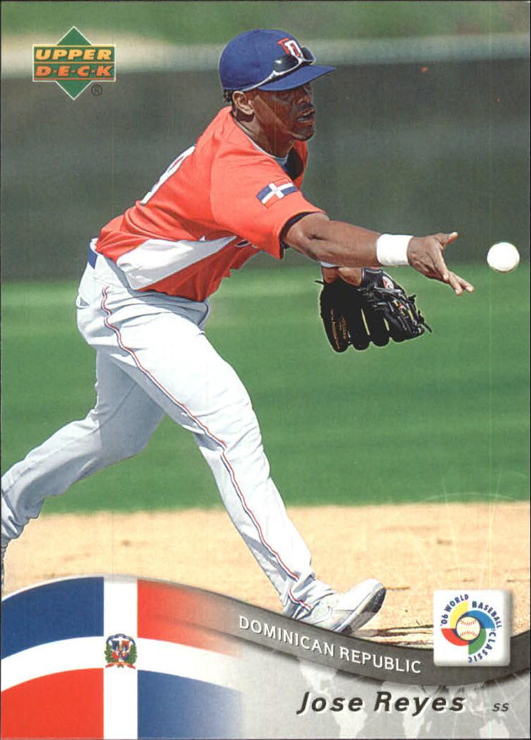 2006 Upper Deck World Baseball Classic Box Set 27 Jose Reyes