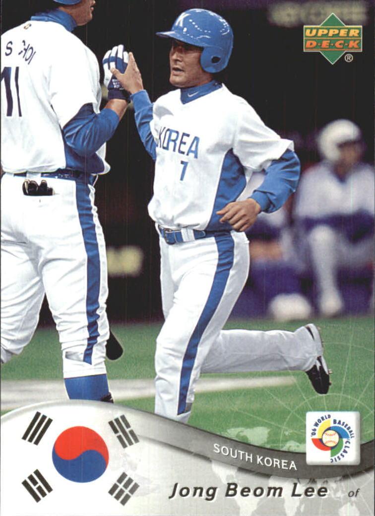 2006 Upper Deck World Baseball Classic Box Set #35 Jong Beom Lee