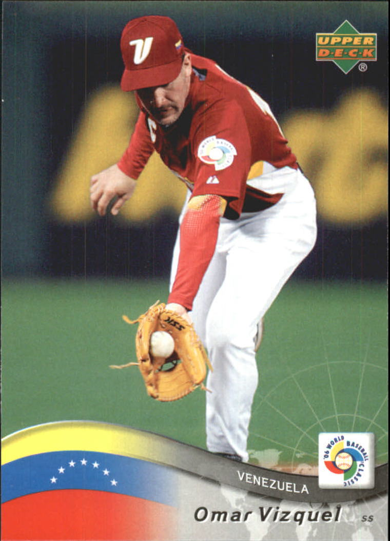 2006 Upper Deck World Baseball Classic Box Set 50 Omar Vizquel