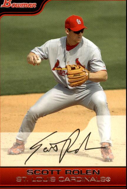2006 Bowman #20 Scott Rolen