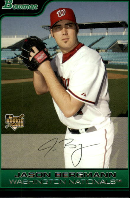 2006 Bowman #216 Jason Bergmann RC