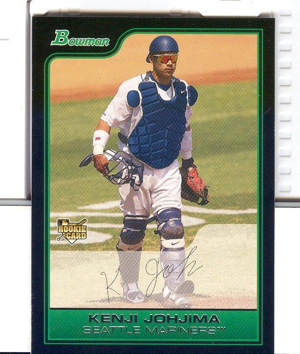 2006 Bowman #219 Kenji Johjima RC