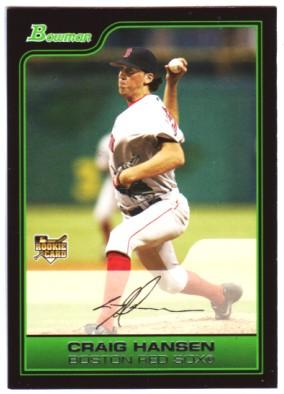 2006 Bowman #220 Craig Hansen RC