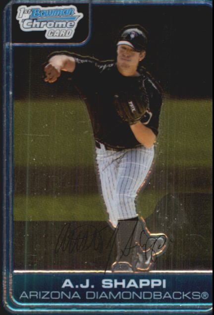 2006 Bowman Chrome Prospects #BC149 A.J. Shappi