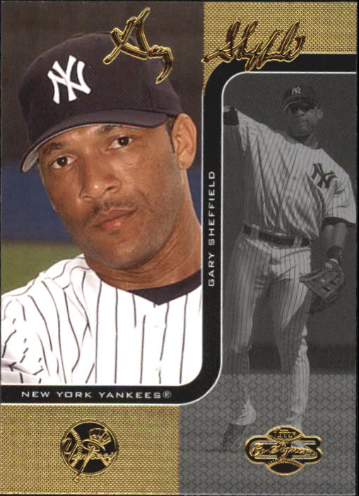 2006 Topps Co-Signers #11 Gary Sheffield