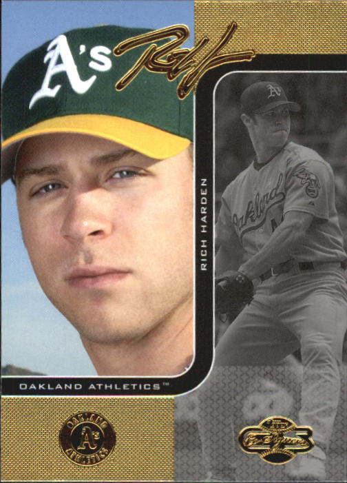 2006 Topps Co-Signers #12 Rich  Harden