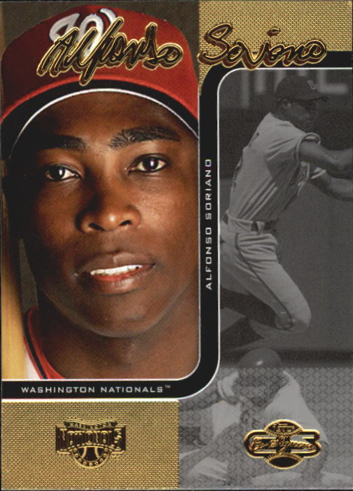 2006 Topps Co-Signers #18 Alfonso Soriano