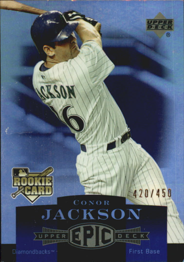 2006 Upper Deck Epic #1 Conor Jackson (RC)