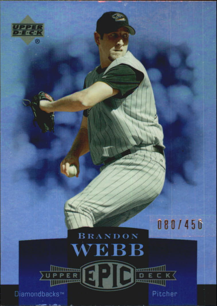 2006 Upper Deck Epic #2 Brandon Webb