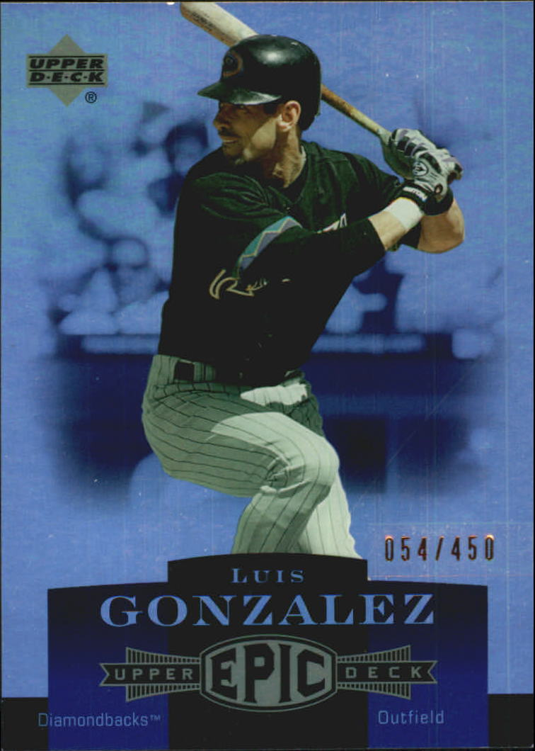 2006 Upper Deck Epic #4 Luis Gonzalez