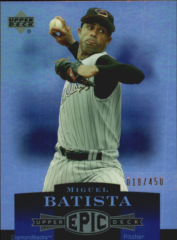 2006 Upper Deck Epic #5 Miguel Batista