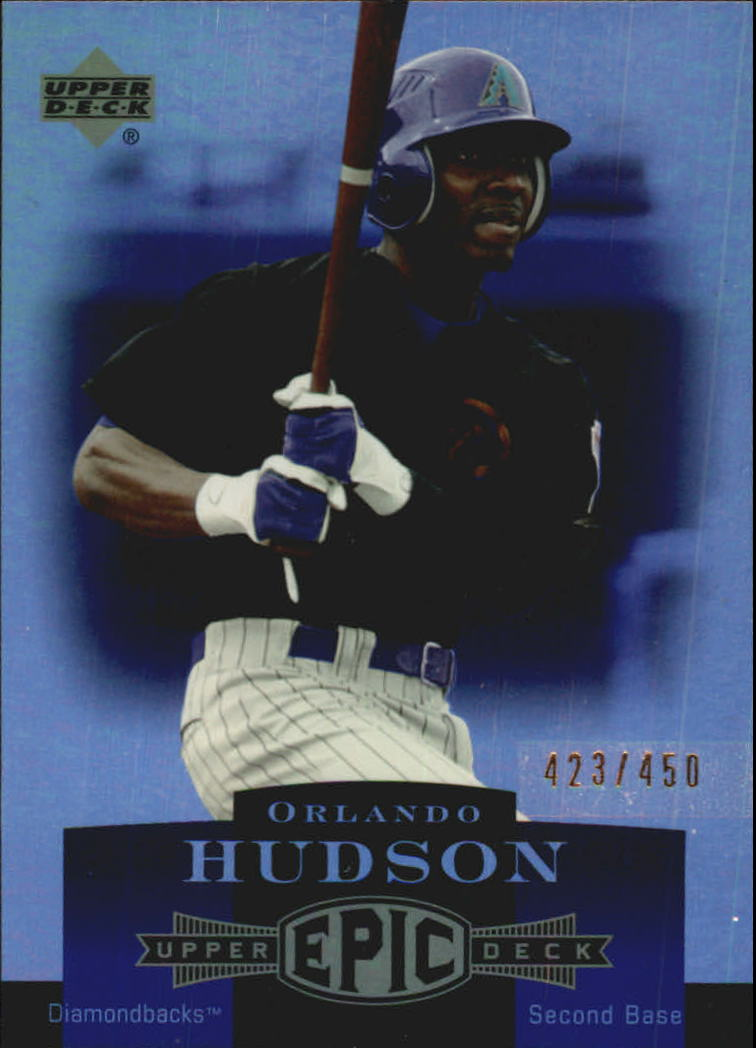 2006 Upper Deck Epic #6 Orlando Hudson