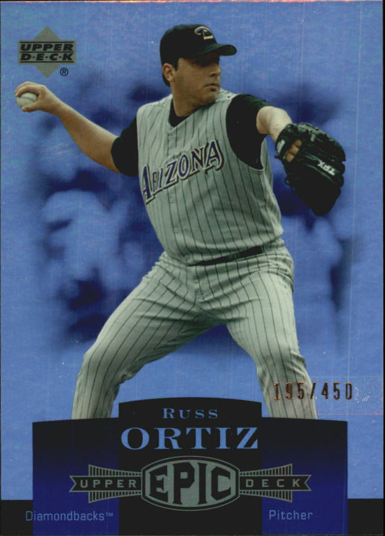 2006 Upper Deck Epic #7 Russ Ortiz