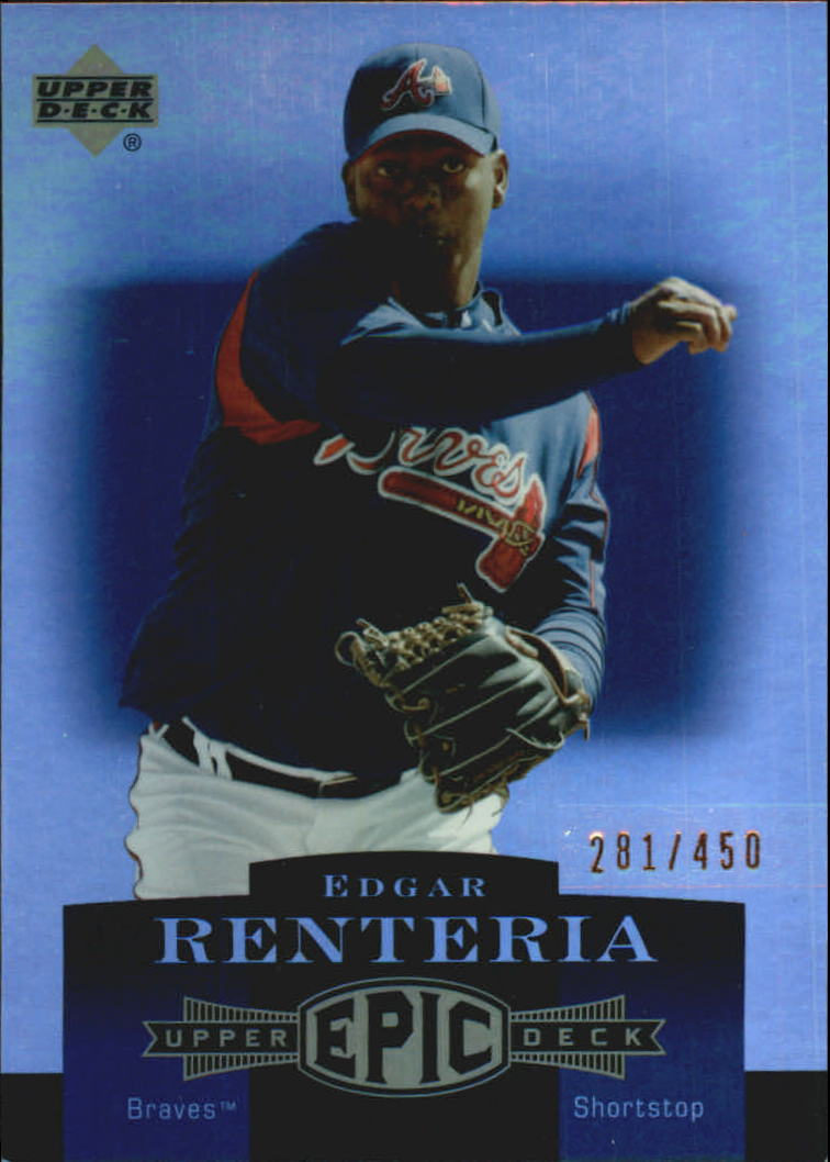 2006 Upper Deck Epic #11 Edgar Renteria