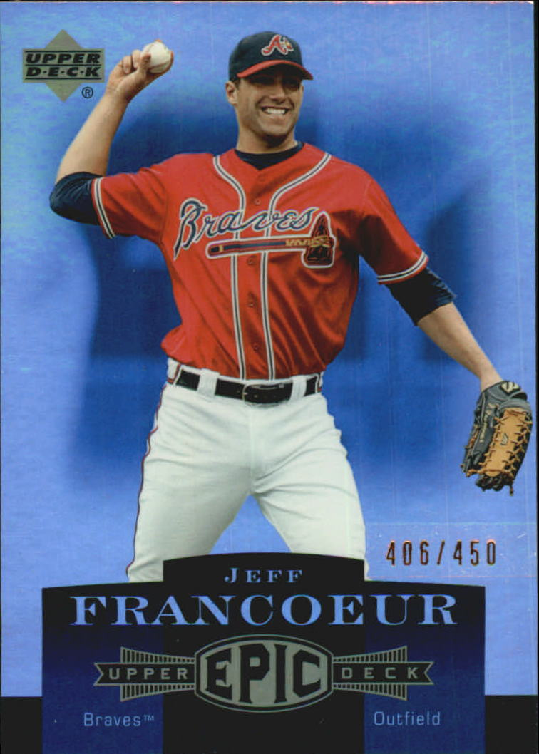 2006 Upper Deck Epic #12 Jeff Francoeur
