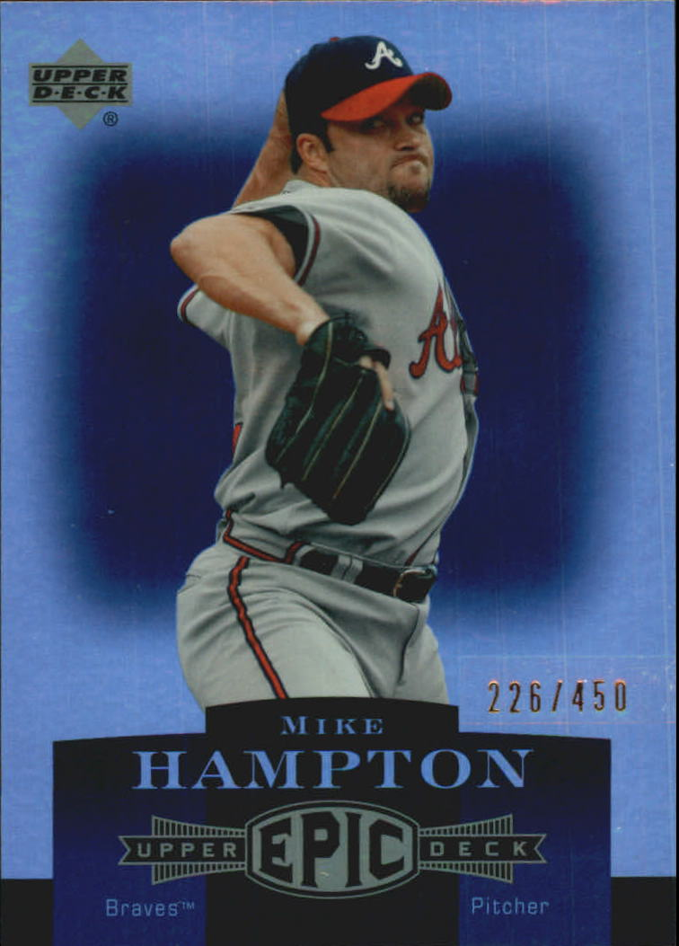 2006 Upper Deck Epic #15 Mike Hampton