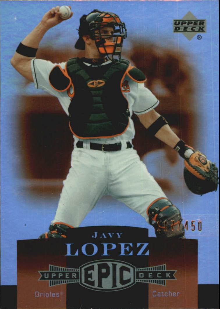 2006 Upper Deck Epic #19 Javy Lopez