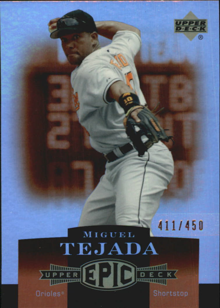2006 Upper Deck Epic #23 Miguel Tejada