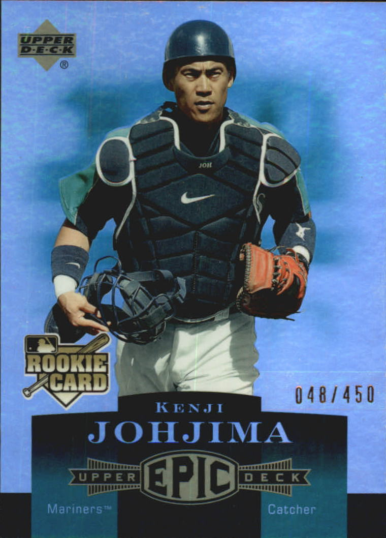 2006 Upper Deck Epic #221 Kenji Johjima RC