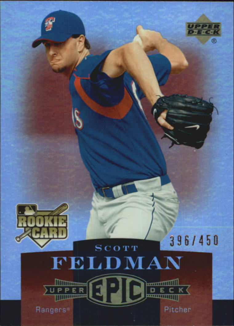 2006 Upper Deck Epic #285 Scott Feldman RC