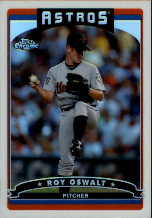 2006 Topps Chrome Refractors #81 Roy Oswalt