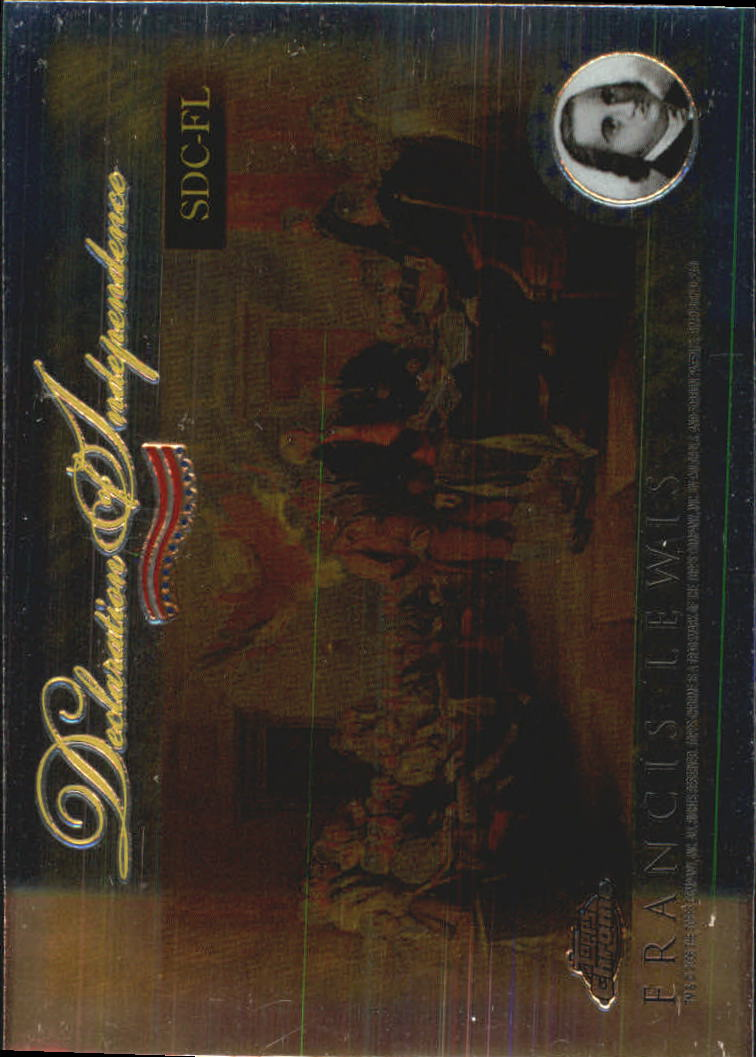 2006 Topps Chrome Declaration of Independence #FL Francis Lewis